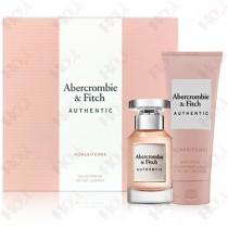 397-300 Abercrombie & Fitch A&F Authentic 真我女性淡香精禮盒 (淡香精50ml+身體乳200ml)
