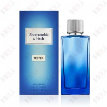 397-331【TESTER包裝】Abercrombie & Fitch A&F First Instinct Together 遇見男性淡香水 50ml ~環保式外盒、有蓋子