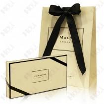 386-45【加贈~緞帶+同品牌紙提袋】Jo Malone 限量五件組香水禮盒 9ml x 5款(青檸羅勒與柑橘+葡萄柚+黑石榴+橙花+琥珀與薰衣草)