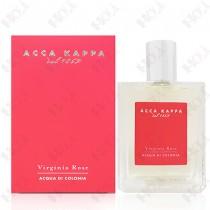 100-1549【即期出清 效期2021.7】Acca Kappa Virginia Rose 玫瑰迷漾女性古龍水 100ml